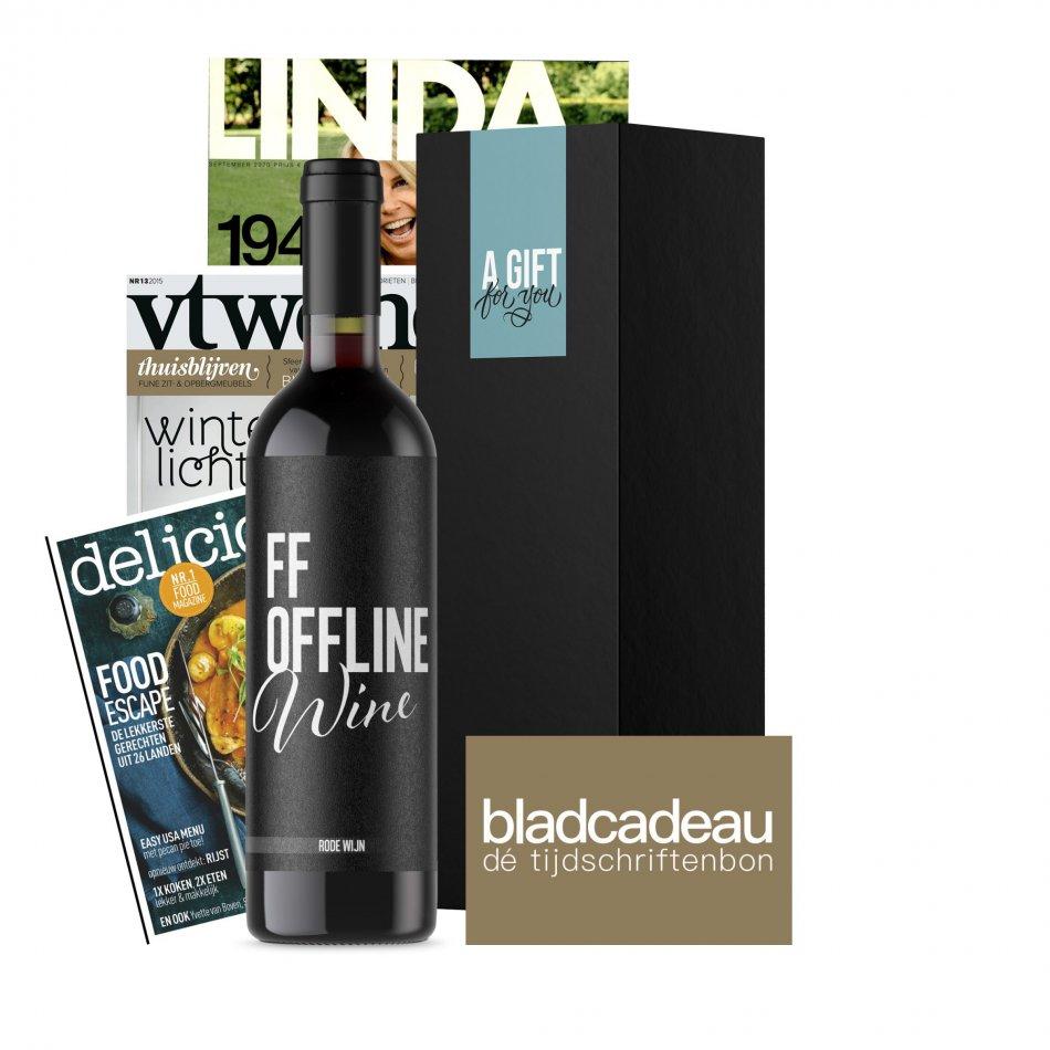FF Off Line Wine Tijdschriftenbon- Rood